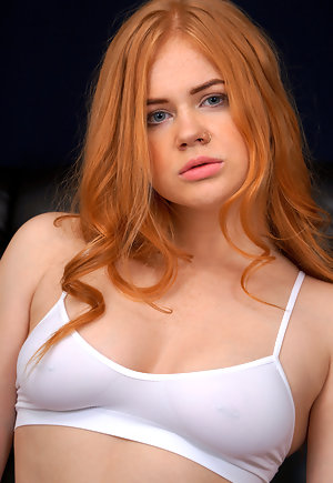 Beautiful Red Head Teen